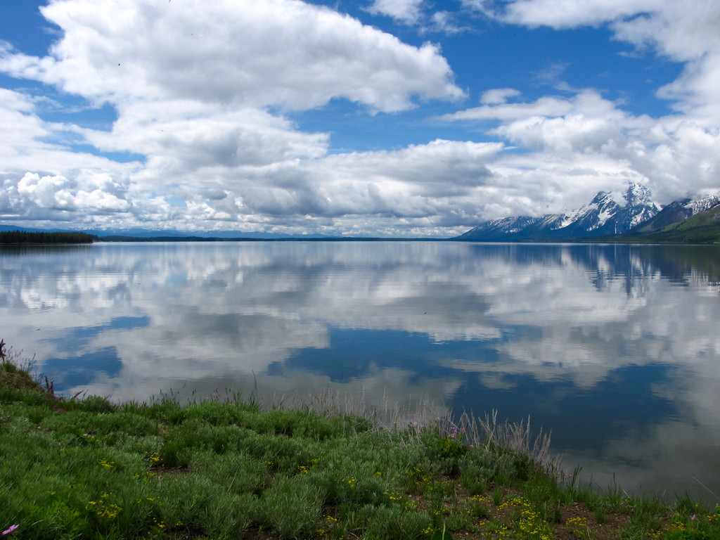 Jackson Lake, Grand Teton National Park.