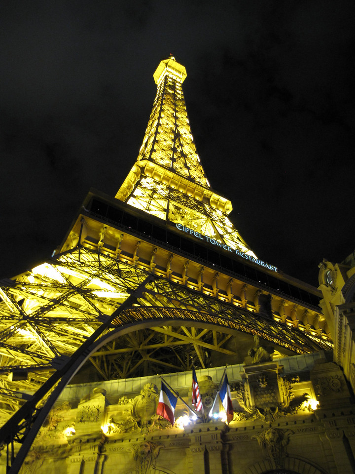 The Paris Casino and Resort.
