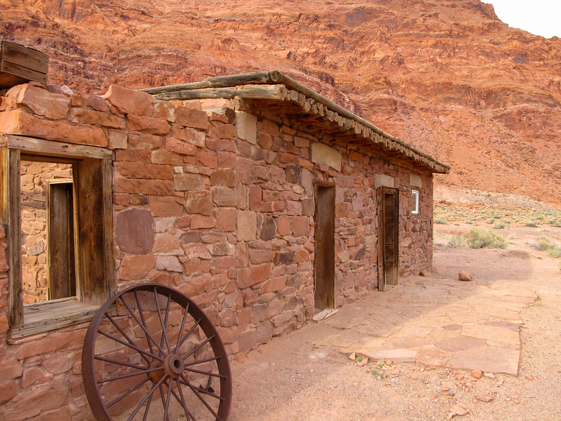 Lee's Ferry ghost town and historic site.