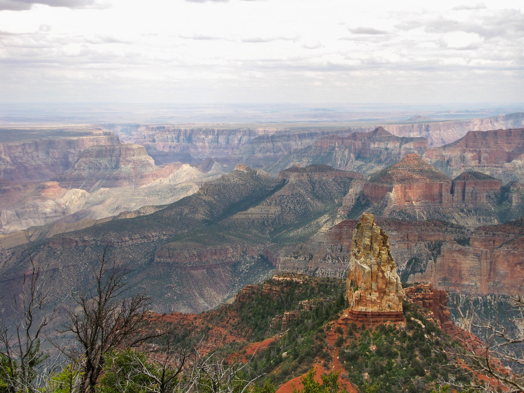 Point Imperial, North Rim, Grand Canyon National Park.