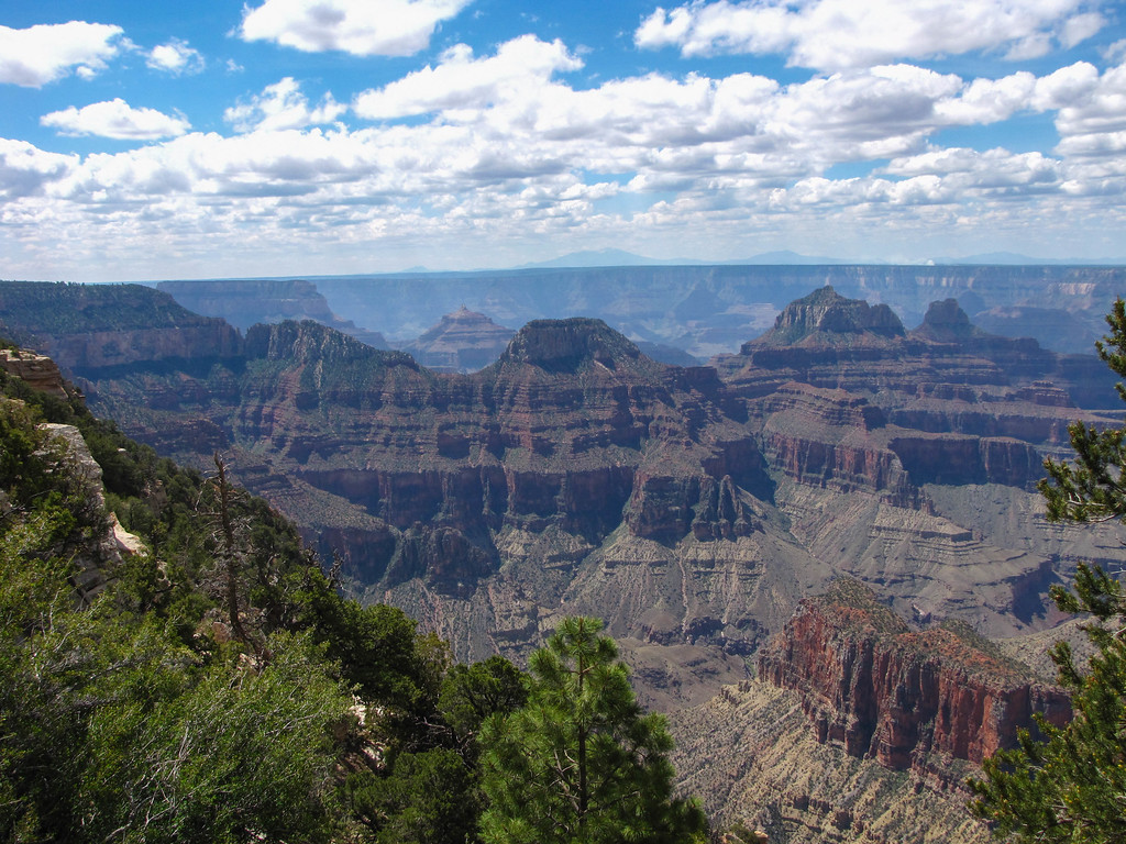 North Rim, Grand Canyon National Park.