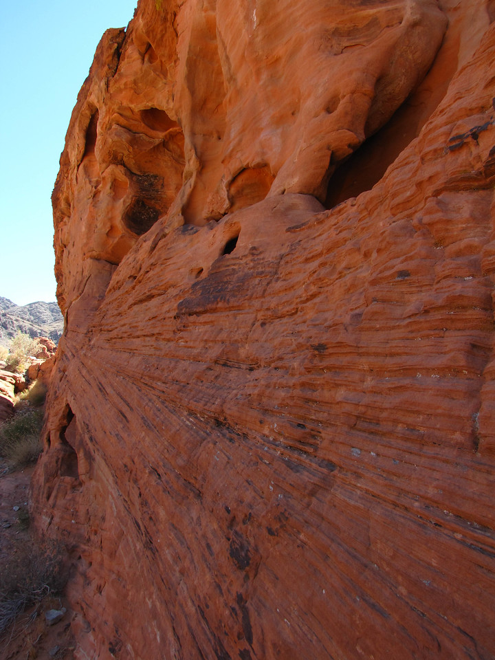Beehive formation in Valley of Fire State Park.