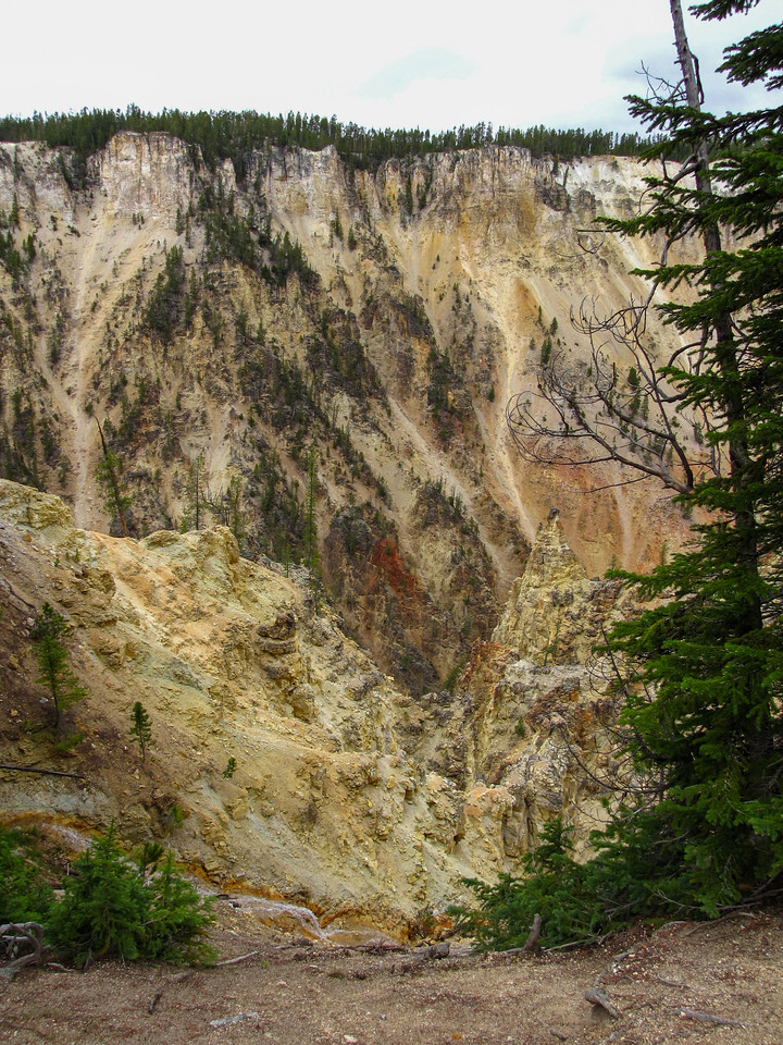 The Grand Canyon of the Yellowstone, Yellowstone National Park.