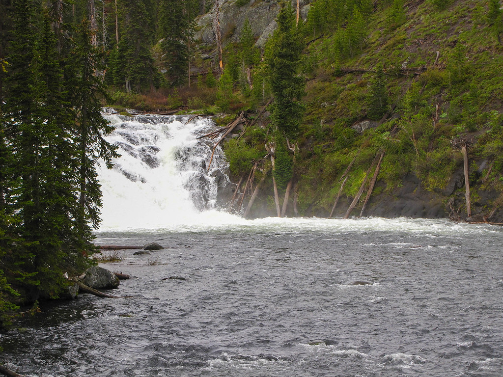 Lewis Falls, Yellowstone National Park.