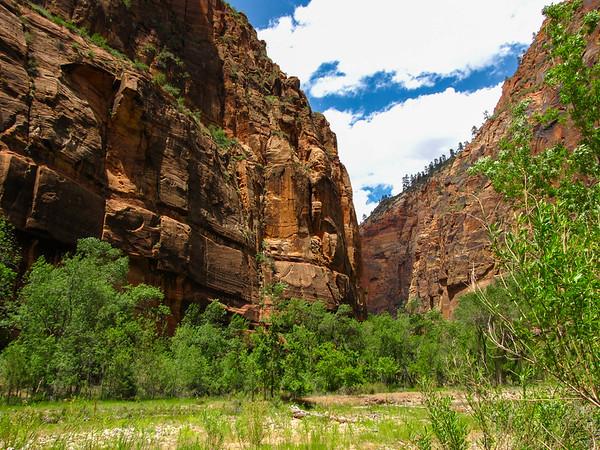 Zion Canyon.