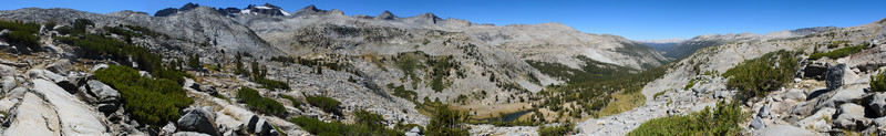 Lyell Canyon and Donohue Pass