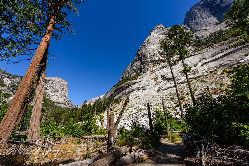 Foot of Half Dome