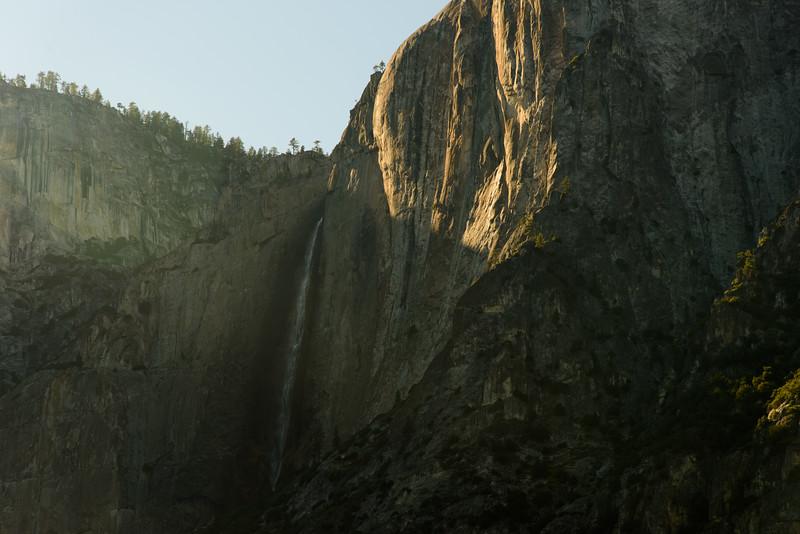 Yosemite Falls at Dusk