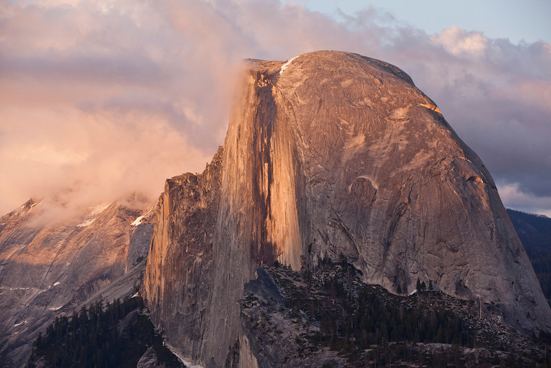 Sentinel Dome at Sunset