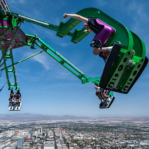 Skyrides at Stratosphere Tower, Las Vegas, Nevada, USA