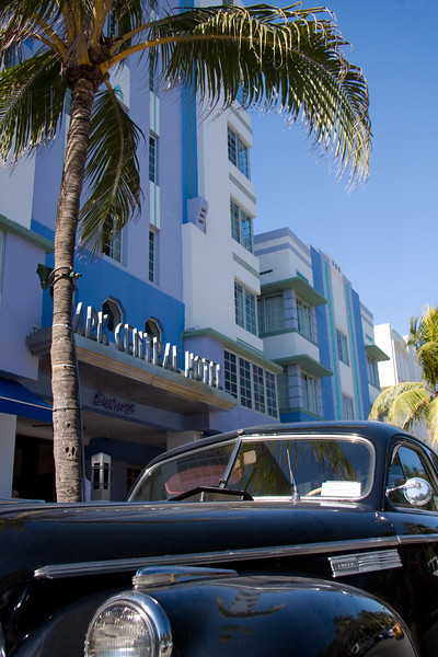 Park Central Hotel, Ocean Drive, Art Deco District, Southbeach, Miami, Florida