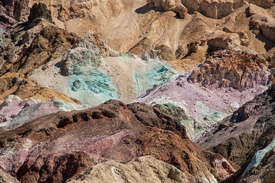 Artist's Palette, Artist's Drive, Death Valley National Park, California, USA