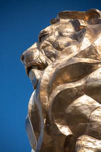 MGM Lion, MGM hotel, Las Vegas, Nevada, USA