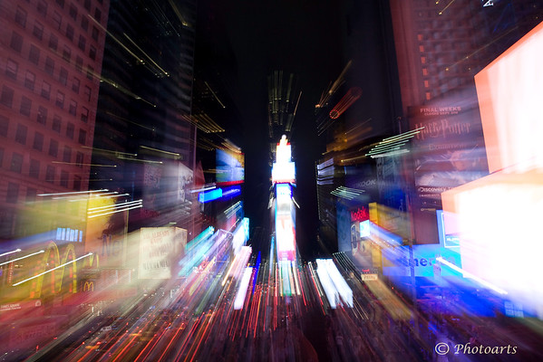 """New York City, Light Speed"""