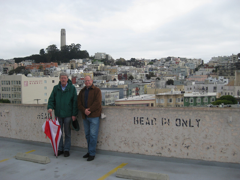 On the Roof of the Vallejo St. Parking Garage