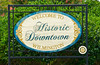 Sign to Historic Downtown Wilmington
