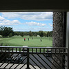 View from the clubhouse at Cedarwood Golf Club, Charlotte, NC.  The Charlotte downtown skyline is visible. Beautiful.