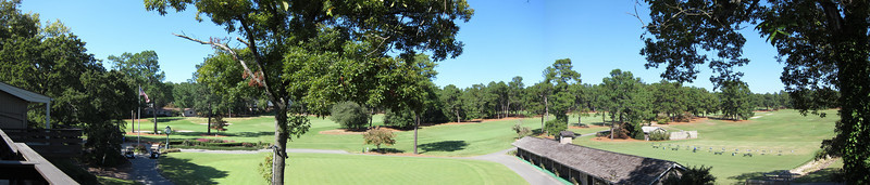 Behind the Pine Needles lodge/clubhouse.  Southern Pines, NC.