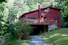 • The cabin we stayed at in Bryson City, NC<br /> • The front entrance to the cabin which we never used.