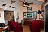 • The cabin we stayed at in Bryson City, NC<br /> • Living Area