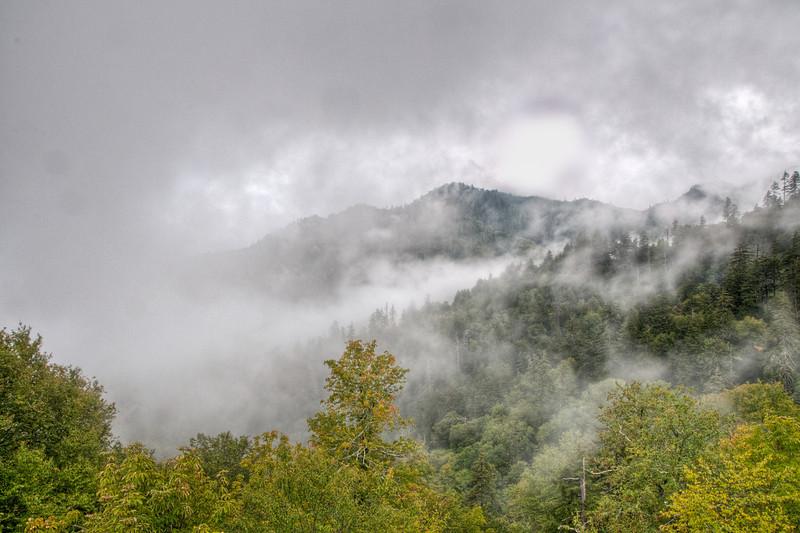 • Photos taken on the way to Gatlinburg from Cherokee<br /> • Yep, it looks like the smokey mountains!