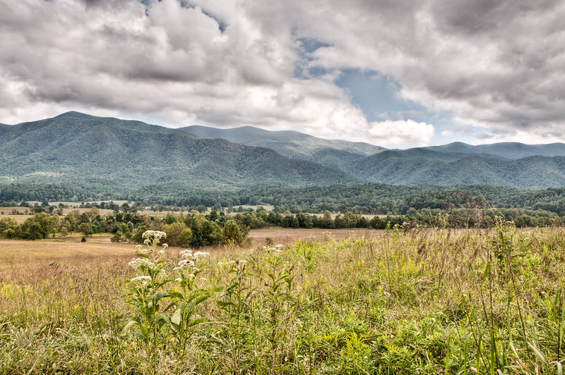 A scenic photo of Cades Cove