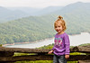 • On the way to Fontana Dam<br /> • Sadie Rose high above Fontana Lake