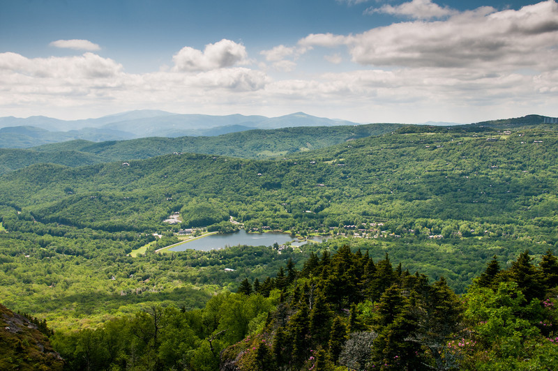 Morning images from Grandfather Mountain