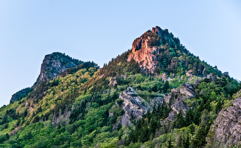 Sunset photos of Grandfather mountain