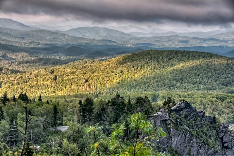 Morning landscape images.  HDR Image