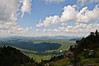 View from the top of Grandfather Mountain