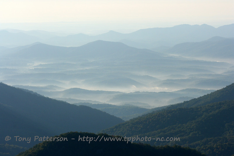"""""""Mountain Valley AM""""<br /> Blue Ridge Parkway, NC"""