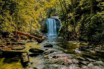 Water falls, Western North Carolina