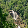 highest waterfall east of the Rockies. Fall is 811 feet.