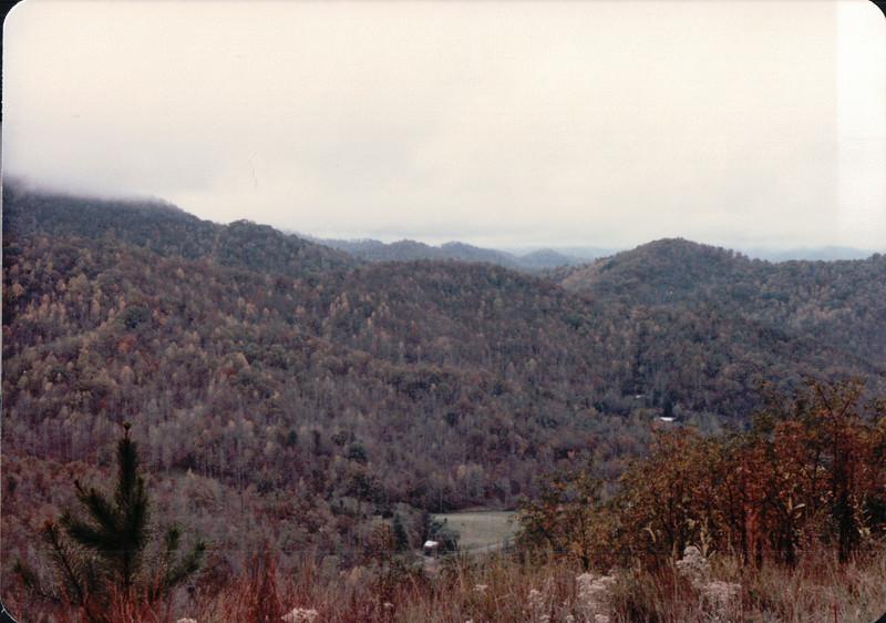 Smoky Mountains - NC - 10/24/85