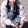 Donna and Goat at Nature Center - Asheville
