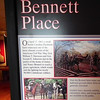 Peace Agreement for Civil War - Bennett Place Historic Site - Durham, NC<br /> On April 17, 1865 a small NC Piedmont farm witnessed one of the most climatic events of the American Civil War. Major General William T. Sherman and General Joseph E. Johnston met in the parlor of the home of James and Nancy Bennett to reach a peace agreement, which would end the fighting for nearly 90,000 Confederate soldiers.