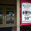 Entrance to Visitor Center and Museum - Bennett Place Historic Site - Durham, NC