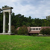 Unity Monument with Visitor Center & Museum Behind - Bennett Place Historic Site - Durham, NC