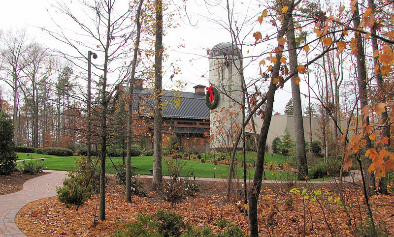 View of The Billy Graham Library and Silo - Charlotte, NC  11-26-10