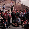 Great Wall of China, 1988, Singing With School Children - Billy Graham Library - Charlotte, NC  11-26-10
