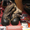 """Boots From Korea - Billy Graham Library - Charlotte, NC  11-26-10<br /> These boots were given to me by the military in 1952 when I went to Korea at Christmas.  I wore them while I was there, and I remember that the weather was so extremely cold."""""""