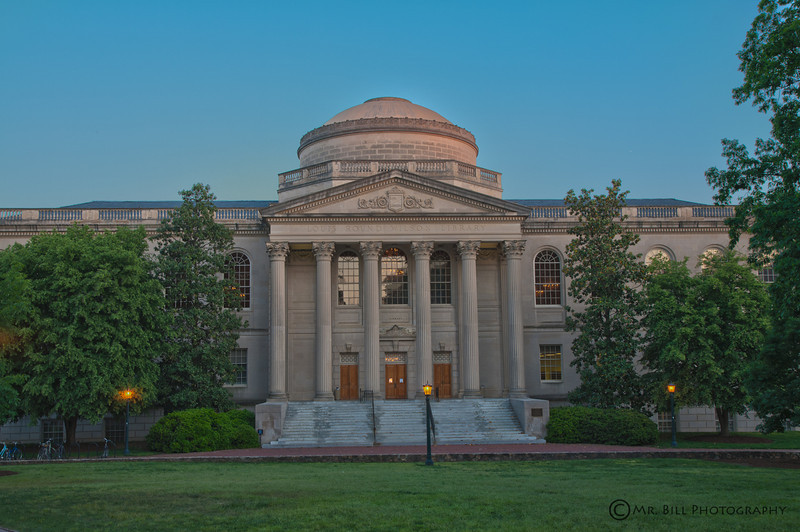 Wilson Library at University of North Carolina