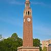 Bell Tower on campus of Univ North Carolina