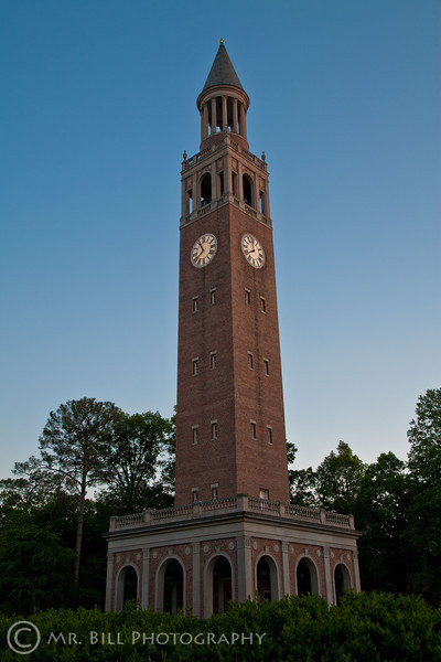 Bell Tower at University of North Carolina