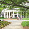 Visitors Center - Daniel Stowe Botanical Garden - Belmont, NC  5-12-12<br /> Daniel J. Stowe was a lifelong nature lover and gardening enthusiast.  Stowe and his wife, Alene, envisioned a complex evolving over several decades to rival other internationally renowned gardens.