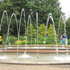 Side View of The Allee Garden - Daniel Stowe Botanical Garden - Belmont, NC  5-12-12