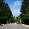 Entrance to Historic Gardens - Sarah P. Duke Gardens - Durham, NC<br /> It was a blue sky day although a very warm one.
