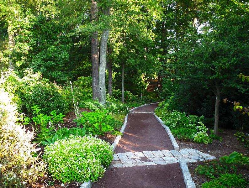 Pathway From Page White Garden to Bridge - Sarah P. Duke Gardens - Durham, NC