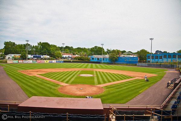 Original Durham Bulls Baseball field